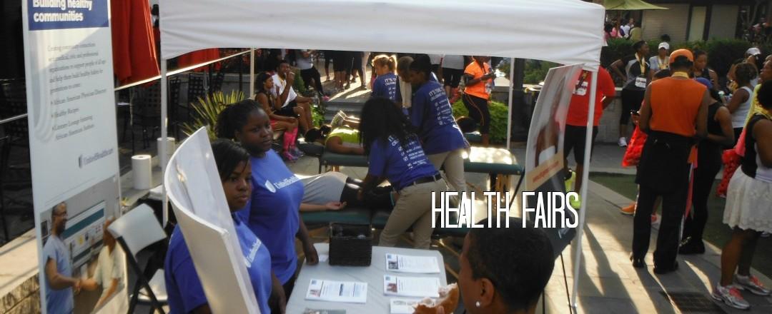 Health Fair Massage